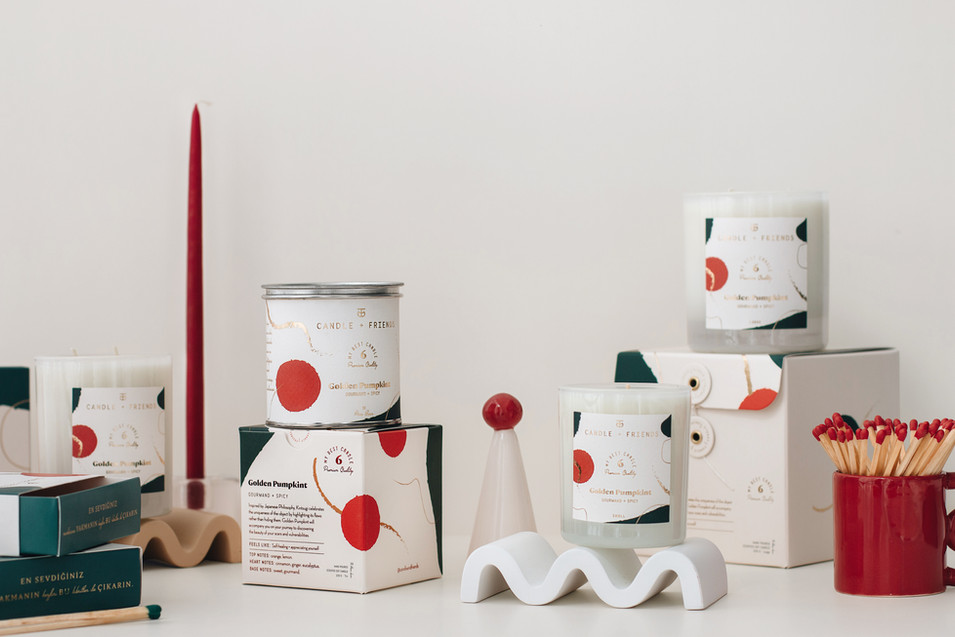 C+F Christmas Packaging