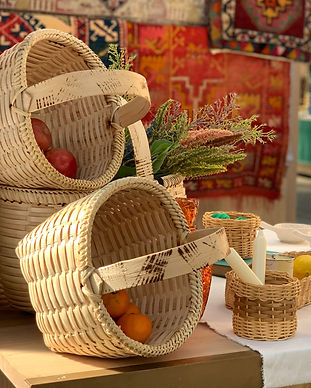 For a more authentic and natural life, shop our selection of handmade wicker baskets and recycle bags from local brands.