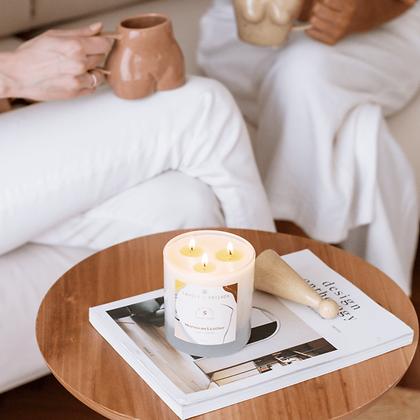 Beige Ceramic Candle Snuffer