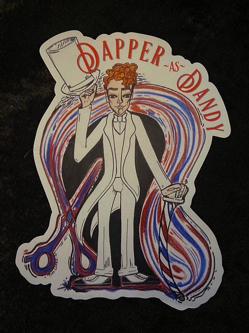 DAPPER AS DANDY Magnet