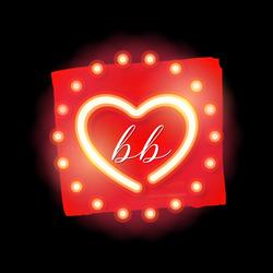 BB - logo - black background