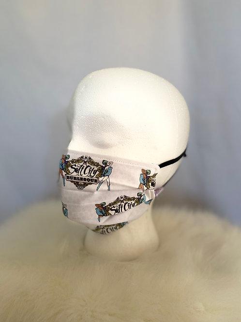 Salt City Burlesque Handmade Fabric Mask