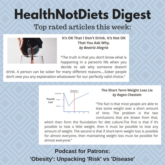 HealthNotDiets Digest, Issue 1, 2019