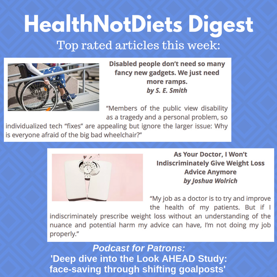 HealthNotDiets Digest, Issue 19, 2019