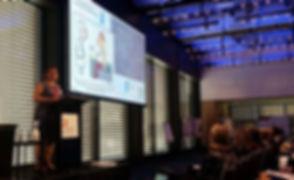 Presenting ANZAED plenary 2017 Sydney.JPG