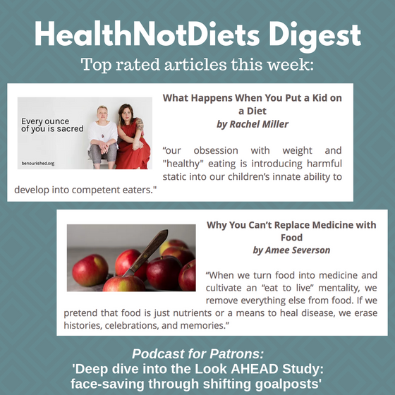 HealthNotDiets Digest, Issue 18, 2019