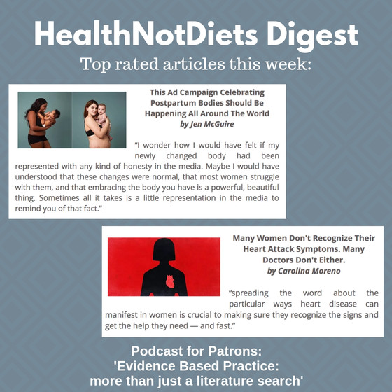 HealthNotDiets Digest, Issue 9, 2019