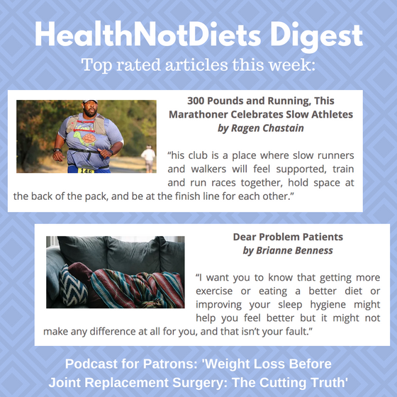 HealthNotDiets Digest, Issue 38, 2019