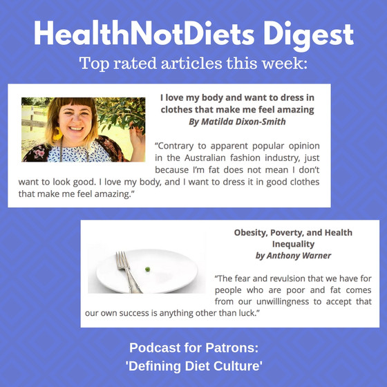 HealthNotDiets Digest, Issue 3, 2019