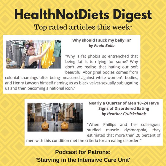 HealthNotDiets Digest, Issue 27, 2019