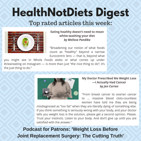 HealthNotDiets Digest, Issue 36, 2019