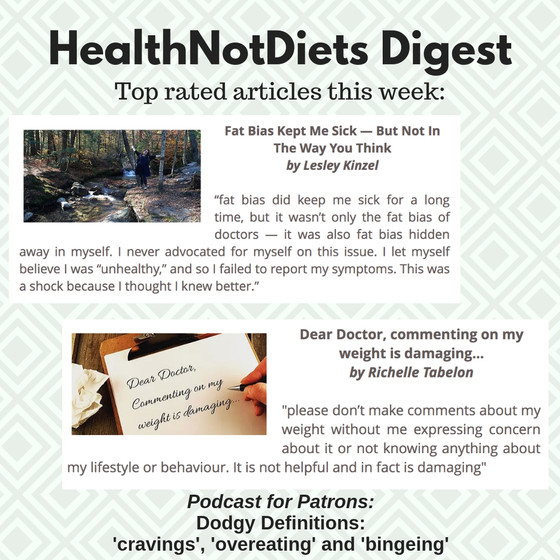 HealthNotDiets Digest, Issue 13, 2019