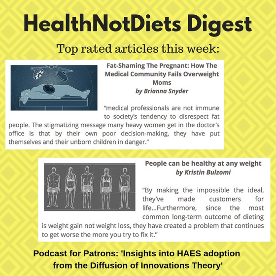 HealthNotDiets Digest, Issue 36, 2018