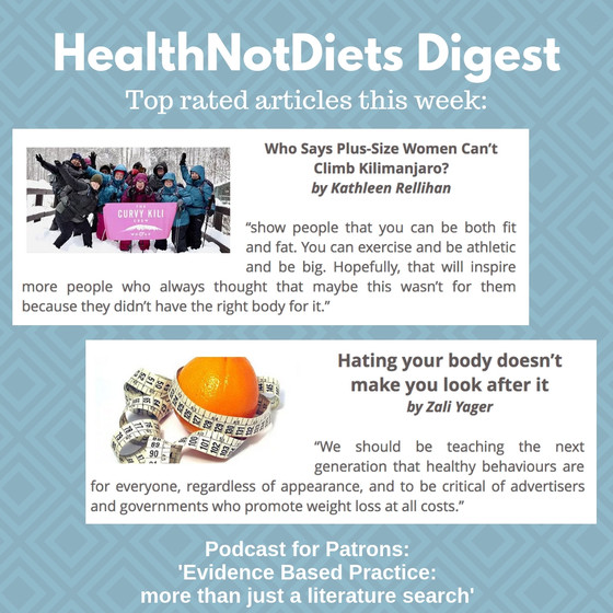 HealthNotDiets Digest, Issue 11, 2019