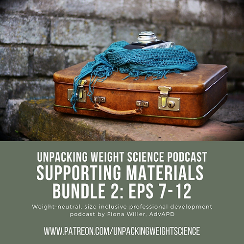 Bundle 2: Episodes 7-12 Supporting Materials