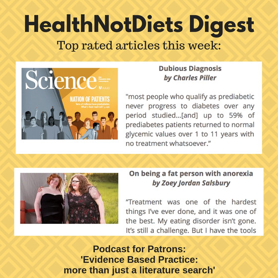 HealthNotDiets Digest, Issue 10, 2019