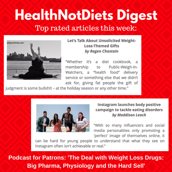 HealthNotDiets Digest, Issue 41, 2019
