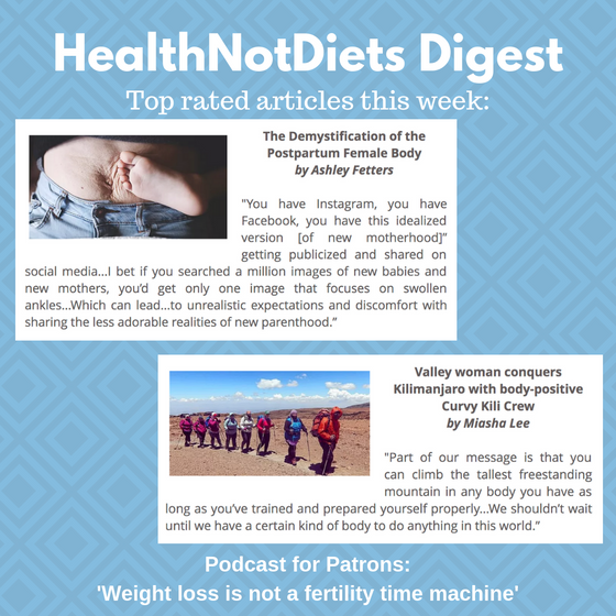 HealthNotDiets Digest, Issue 31, 2019