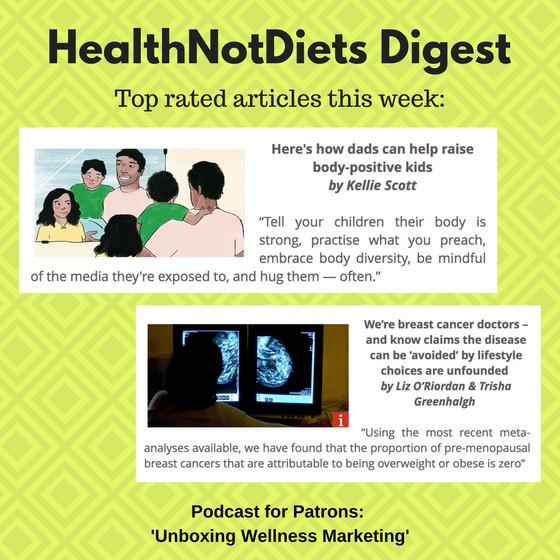 HealthNotDiets Digest, Issue 32, 2018