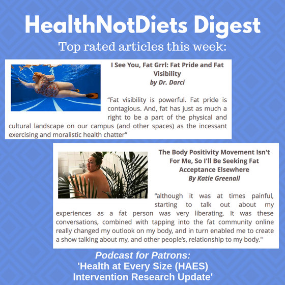 HealthNotDiets Digest, Issue 22, 2019