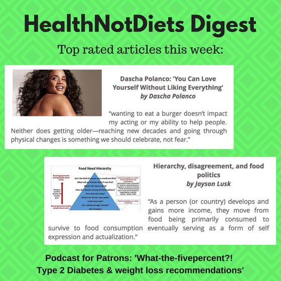 HealthNotDiets Digest, Issue 34, 2018