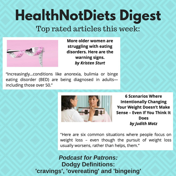 HealthNotDiets Digest, Issue 14, 2019