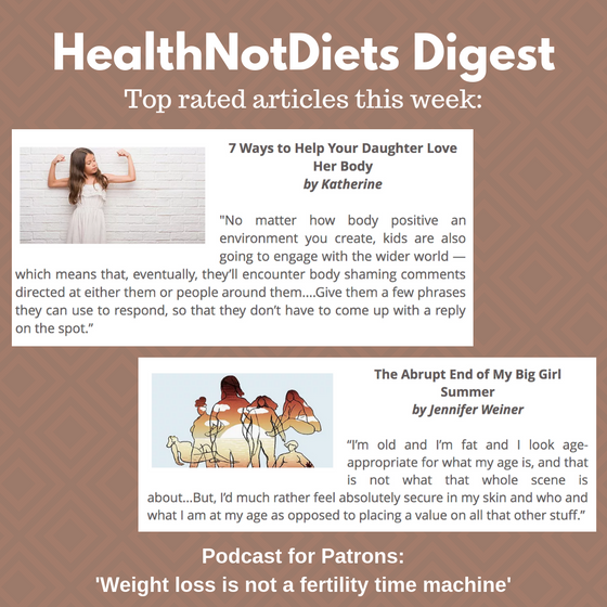 HealthNotDiets Digest, Issue 33, 2019