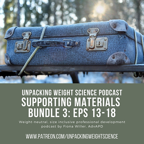 Bundle 3: Episodes 13-18 Supporting Materials
