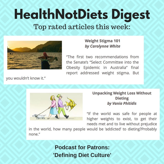 HealthNotDiets Digest, Issue 6, 2019