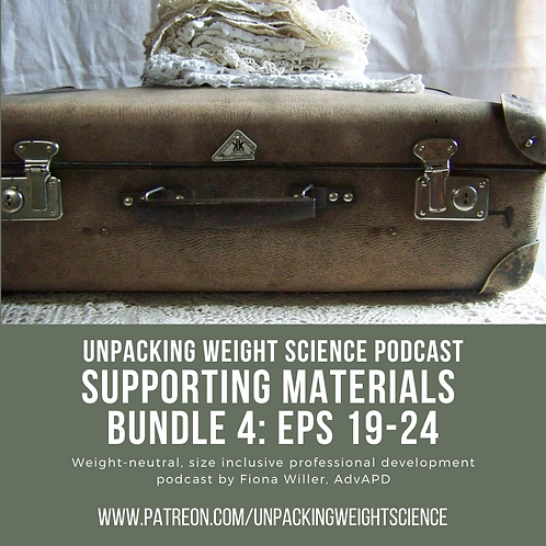 Bundle 4: Episodes 19-24 Supporting Materials