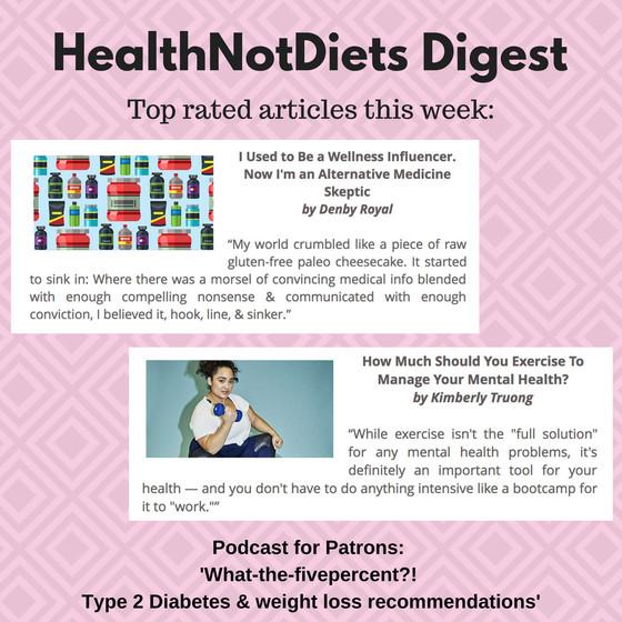 HealthNotDiets Digest, Issue 33, 2018
