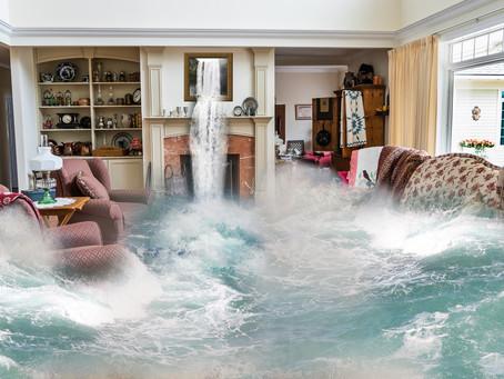 זהירות, הצפה בבית