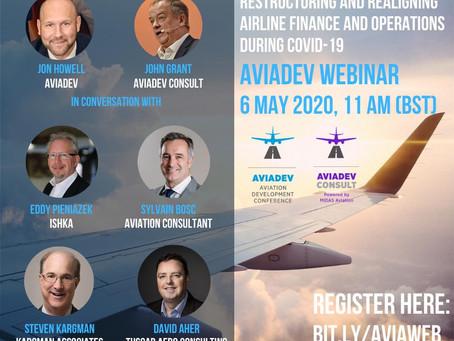 Tuscar MD, David Aher - Panelist on AviaDev Webinar