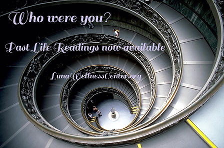Past Life Reading spiral staircase Vatic