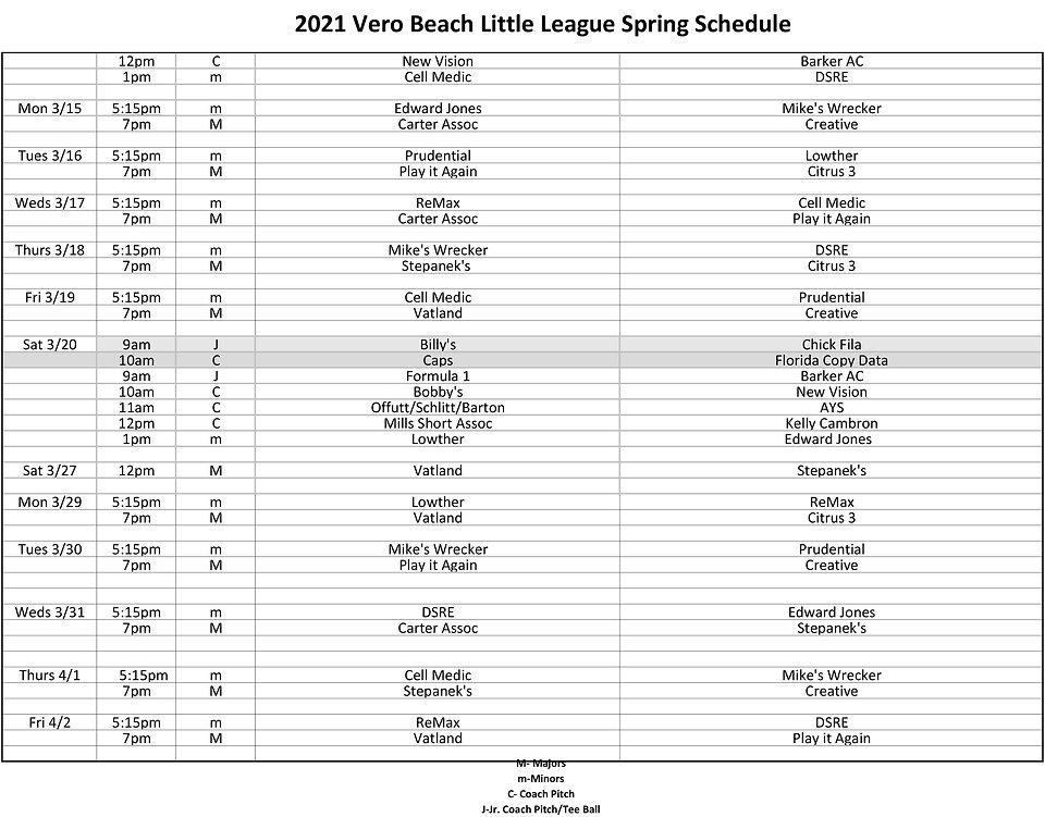 Revised LL Schedule Spring 2021 - 2-2.jp