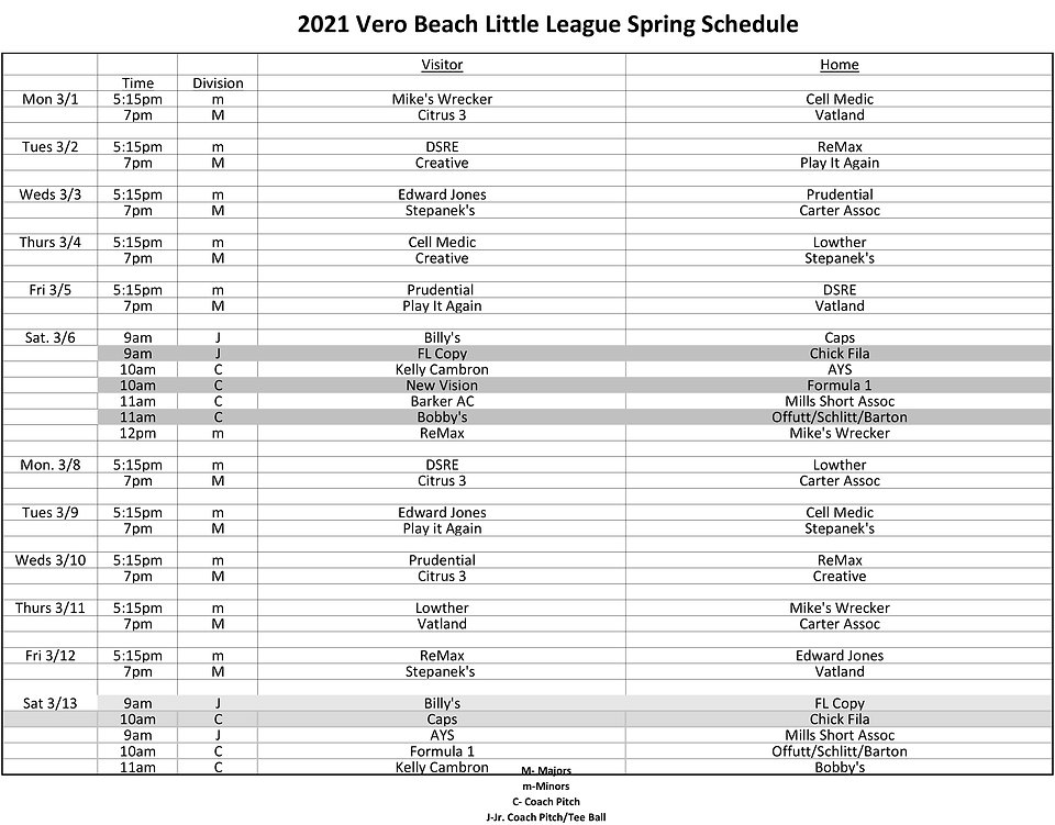 Revised LL Schedule Spring 2021 - 2-1.jp