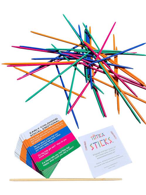 Totika Early Childhood Social Emotional Cards and Totika Pickup Sticks