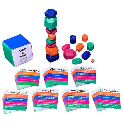 Totika Kohatu & Totika Cube - Seven Card Deck Set