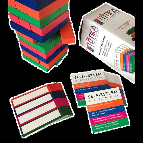 Totika Self-Esteem Game and Blank Card Deck