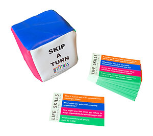 Totika Life Skills Cards and Cube
