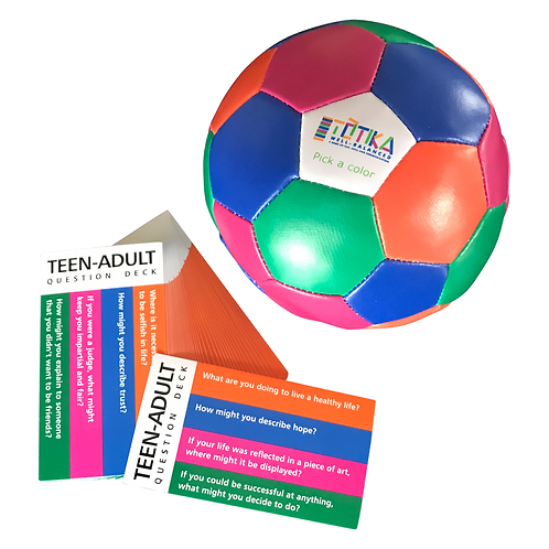 Totika Thumball & Teen-Adult Card Deck