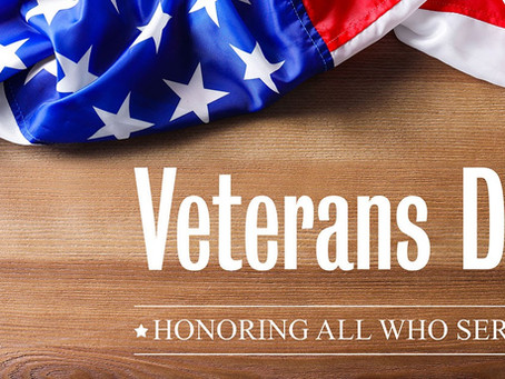 Happy Veterans Day from Sentry Alarm!