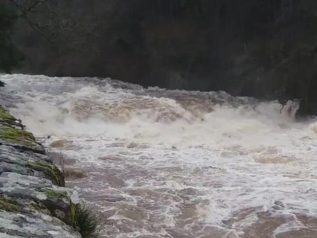 New Lanark River Clyde