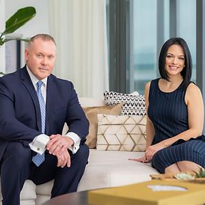 Kent Campbell & Raquel Ramirez