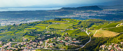 Le colline e il Lago di Garda