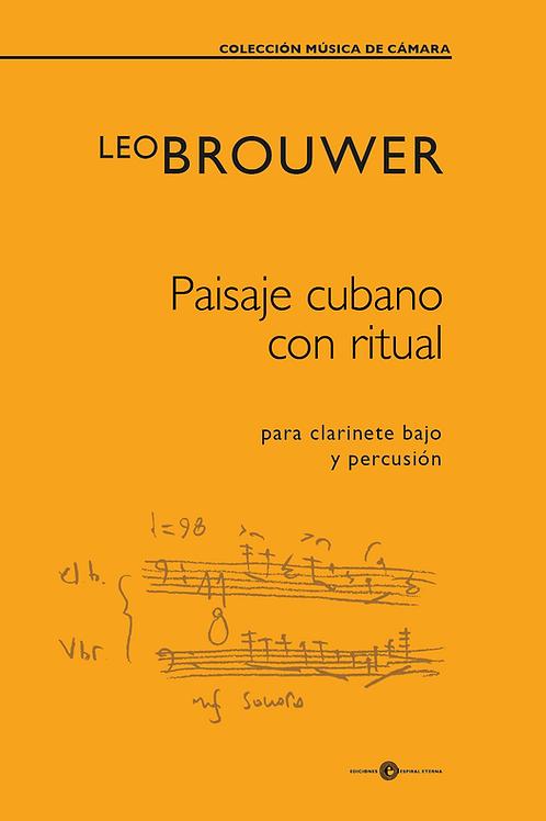Paisaje cubano con ritual (SCORE)