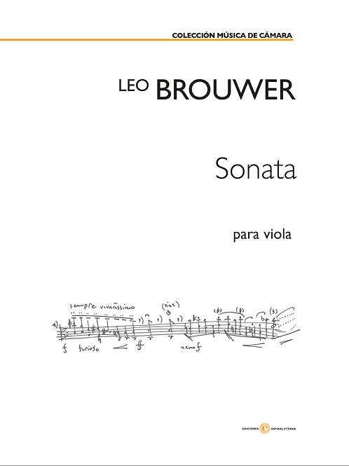Sonata para Viola