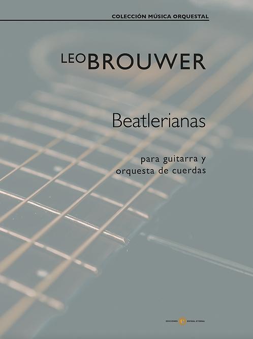 Beatlerianas (para guitarra y orquesta de cuerdas)
