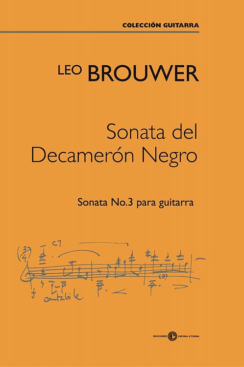 Sonata del Decamerón Negro No. 3
