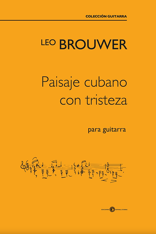 Paisaje Cubano con Tristeza